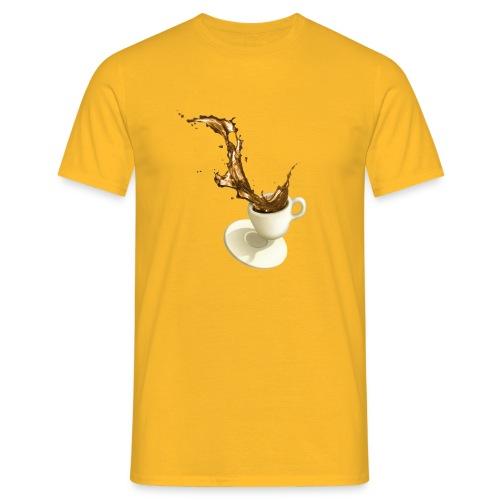 coffee cup desaster - Männer T-Shirt