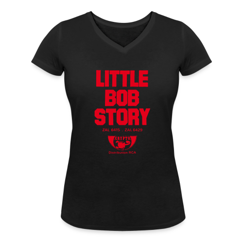 Little Bob Story - Crypto - Femme - T-shirt bio col V Stanley & Stella Femme