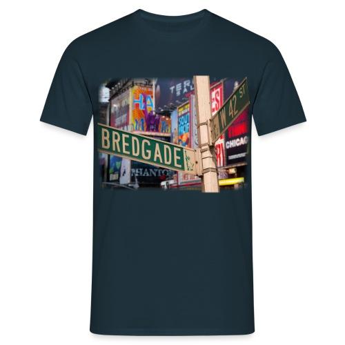 Herre T-shirt - Bredgade/Broadway - Herre-T-shirt