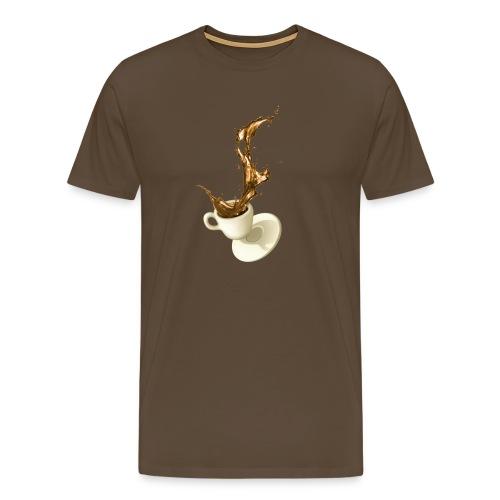 coffee cup desaster - Männer Premium T-Shirt