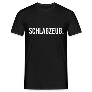 Schlagzeug. Punkt. Shirt (Herren) - Männer T-Shirt