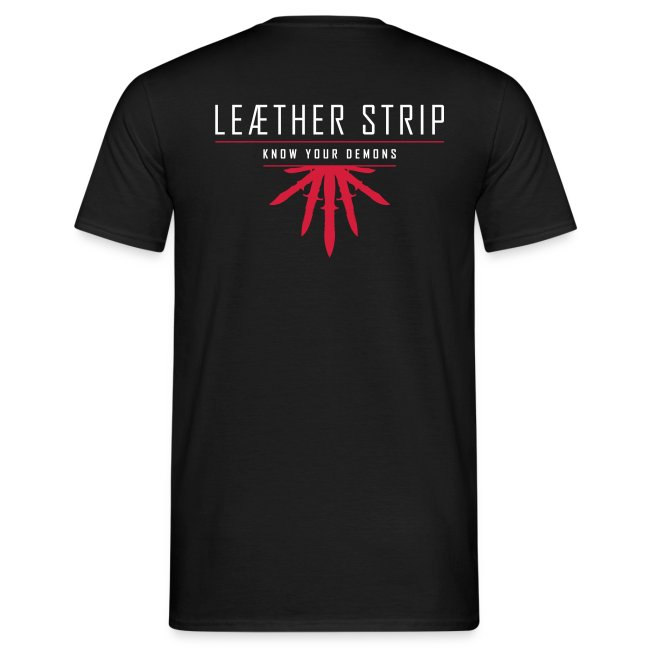 Leaether Strip - The Devil Made Me Do It : T-Shirt - black