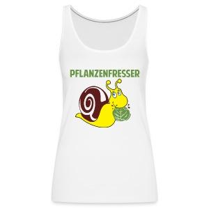 Pflanzenfresser - Frauen Premium Tank Top