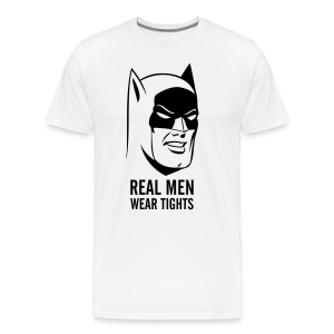Batman Real Man Men T-Shirt - Männer Premium T-Shirt