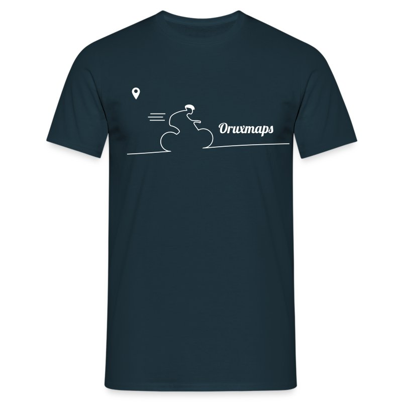 t-shirt ic simple 1 color - Camiseta hombre