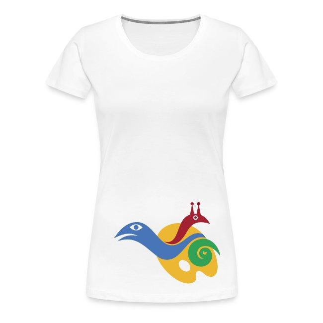 Kreativität-Frauen-T-Shirt