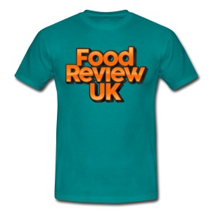 Food Review UK Logo (Budget) - Men's T-Shirt