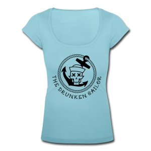 Drunken Sailor U neck Ladies - Frauen T-Shirt mit U-Ausschnitt