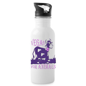 VEGAN FOR ANIMALS - Trinkflasche