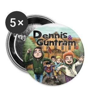 Dennis & Guntram Anstecker - Buttons mittel 32 mm