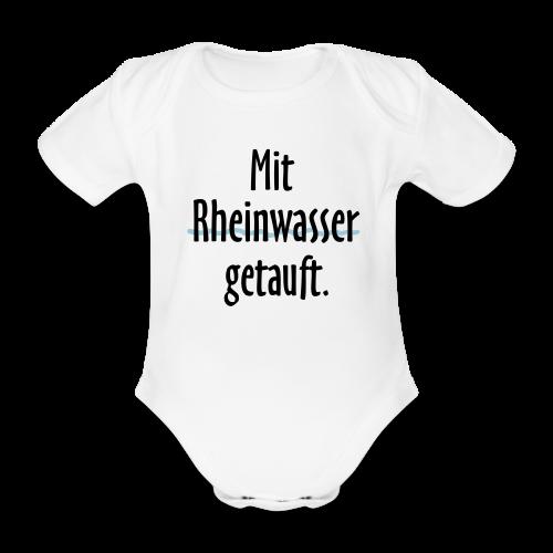 Rheinwasser Babybody - Baby Bio-Kurzarm-Body