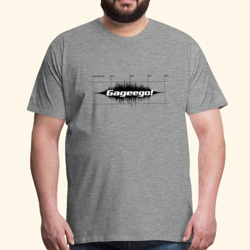 Gageego! tee - Premium-T-shirt herr