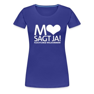 Mannheim sagt Ja! - Frauen Premium T-Shirt