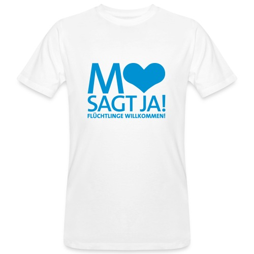 Mannheim sagt Ja! - Männer Bio-T-Shirt