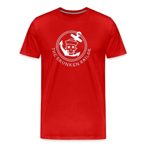 Drunken Sailor Alarm - Rang Skipper - Männer Premium T-Shirt