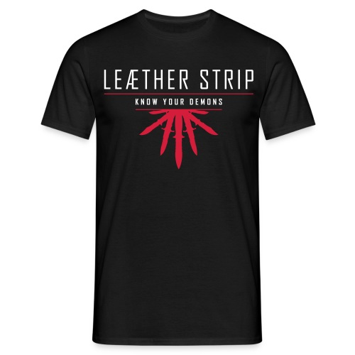 Leaether Strip - Know Your Demons : T-Shirt - black - Men's T-Shirt