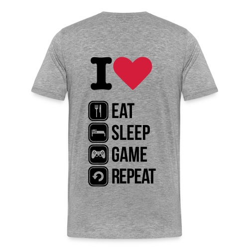 Gamers T-Shirt - Men's Premium T-Shirt