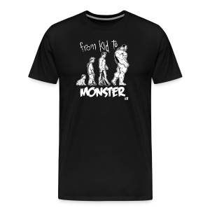 From Kid to Monster Shirt - T-shirt Premium Homme