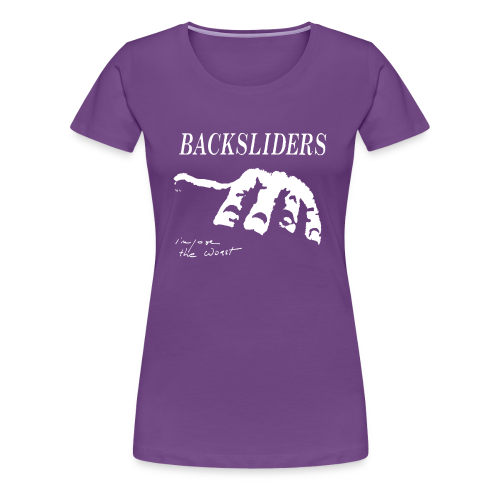 Backsliders - Femme - T-shirt Premium Femme