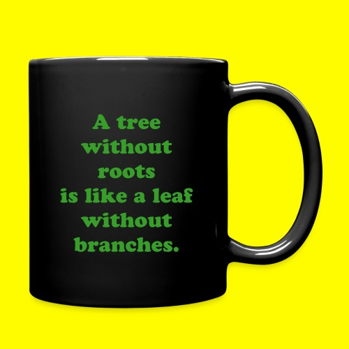A tree without roots - Full Colour Mug