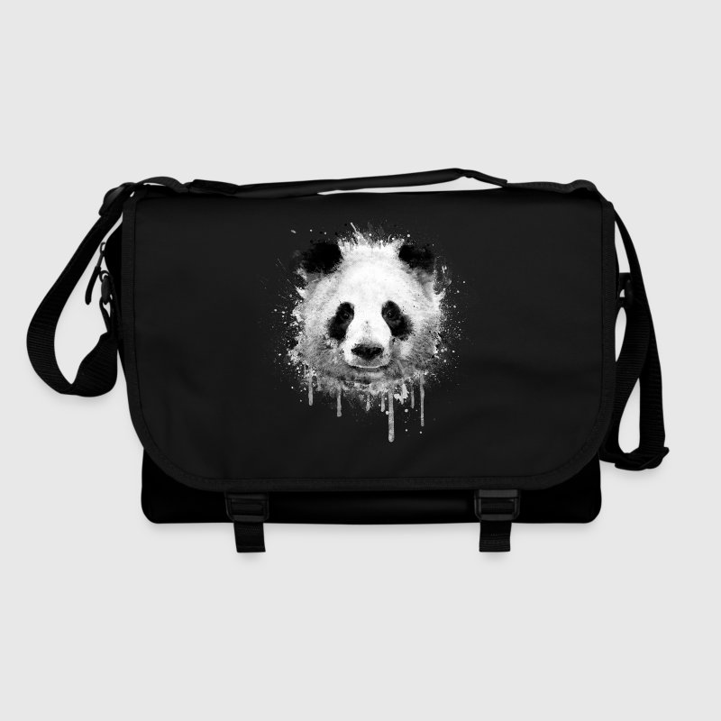 Cool Artistic Panda Portrait ( watercolor design) Bags & Backpacks - Shoulder Bag
