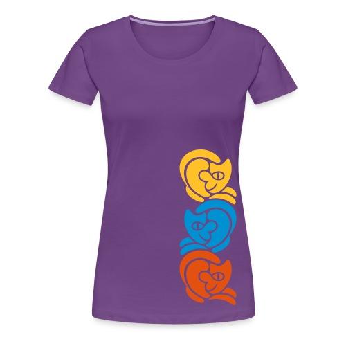 CatLine-Frauen-T-Shirt - Frauen Premium T-Shirt