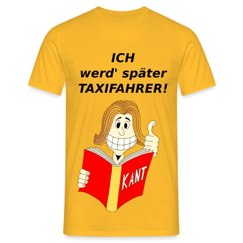 T-Shirt Philosoph - Männer T-Shirt