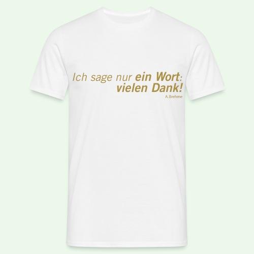 Fussball Kult Shirt // 5 gegen 3 // Brehme Trikot - Männer T-Shirt