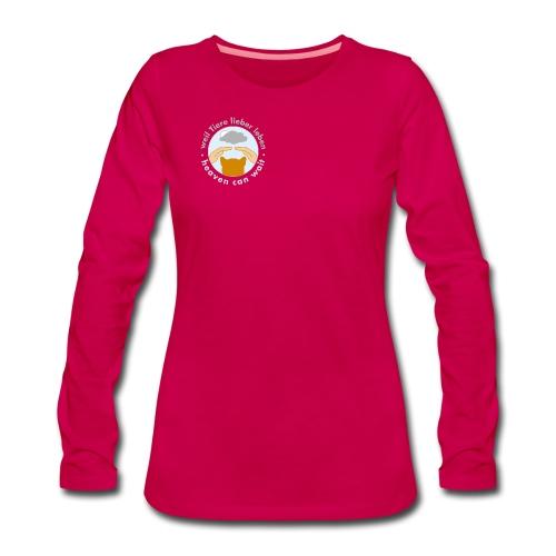 Langarmshirt XXL - Frauen Premium Langarmshirt