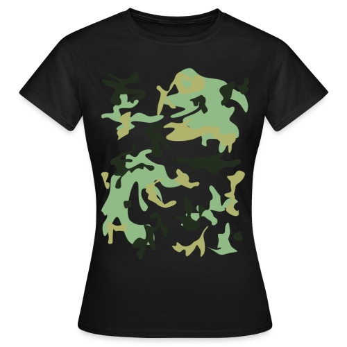 MILITAR - Camiseta mujer