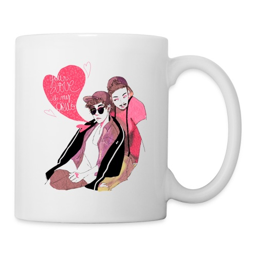 Mug : Your love is my drug - Mug blanc