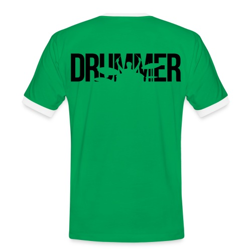 Band The Best Drummer - Männer Kontrast-T-Shirt