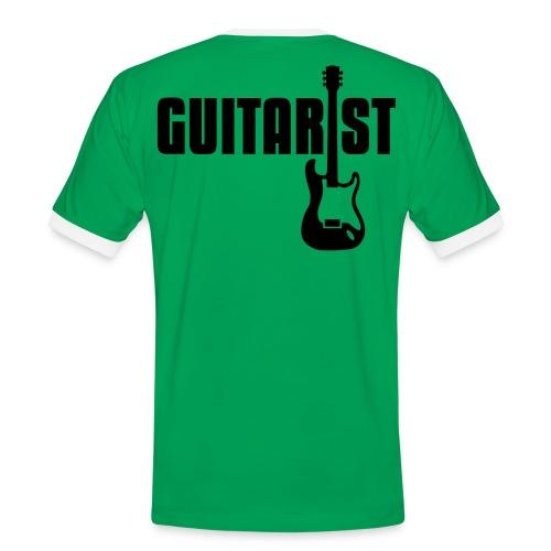 Band The Best Gitarre  - Männer Kontrast-T-Shirt