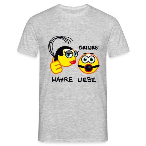 Wahre Liebe - Männer T-Shirt