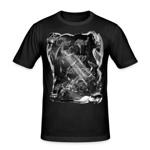 the end of my tongeu zw T-shirts - slim fit T-shirt