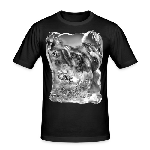 zalmclimb zw T-shirts - slim fit T-shirt