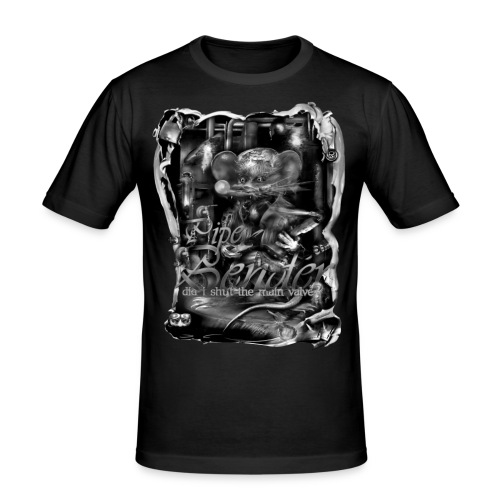 pipebender zw T-shirts - slim fit T-shirt