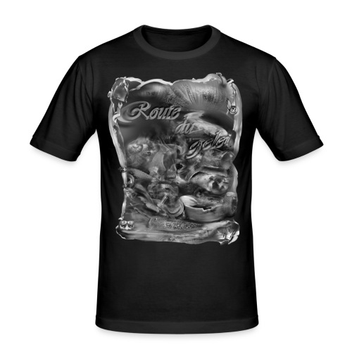 route du gelei zw T-shirts - slim fit T-shirt