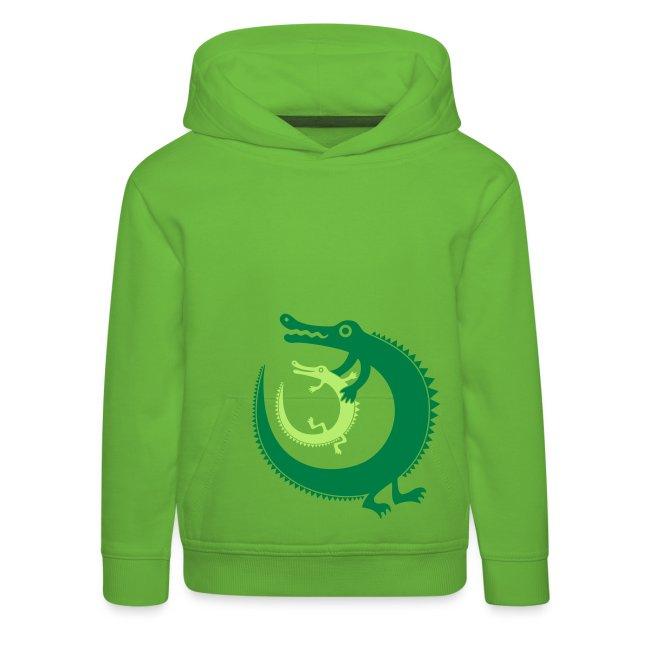 Crocodiles-Kinder-Kapuzenpullover