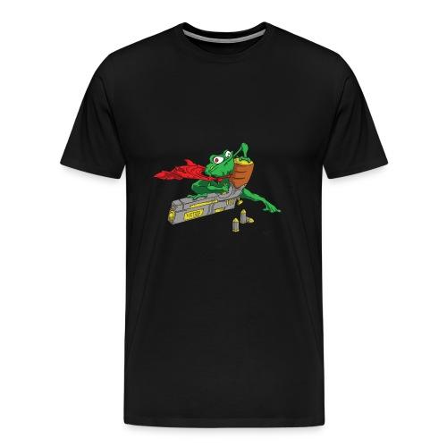 StupiDestFrog - T-shirt Premium Homme