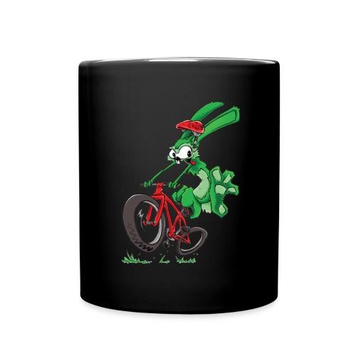 Lapin sur vélo - Mug uni