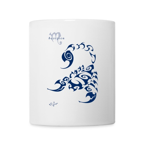 Scorpion - Mug blanc