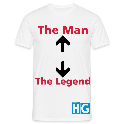 The Legend and The Man - Men's T-Shirt