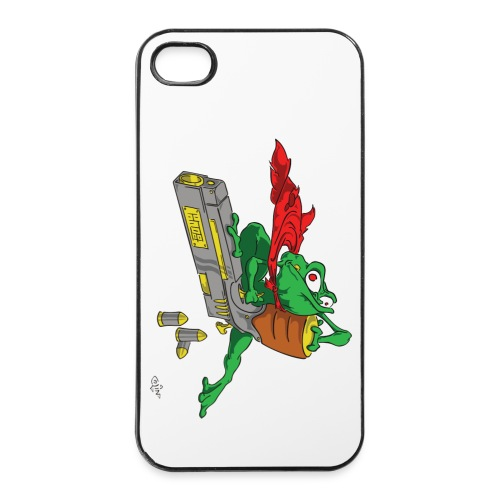 StupiDestFrog - Coque rigide iPhone 4/4s
