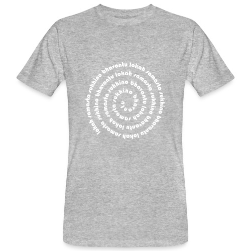 lokah samastah  - Männer Bio-T-Shirt