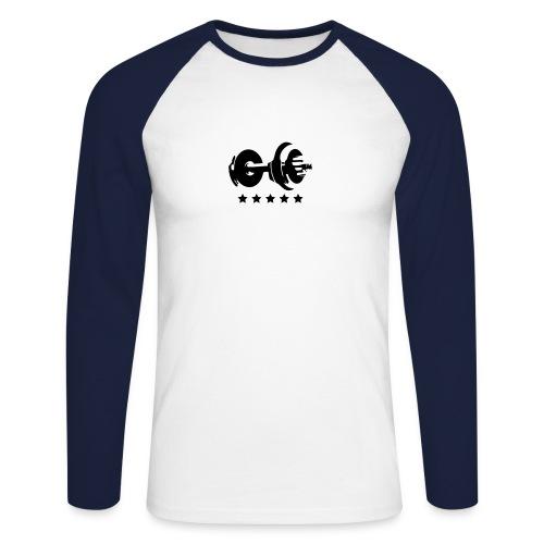 Lifting shirt - Mannen baseballshirt lange mouw