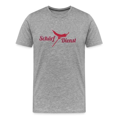 Schärf Dienst - Männer Premium T-Shirt