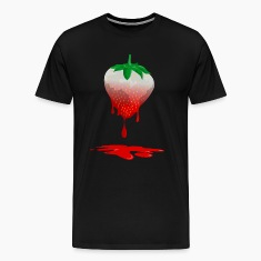 Strawberries color T-Shirts