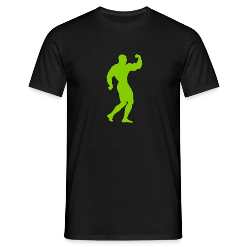 Bodybuilder shirt - Mannen T-shirt
