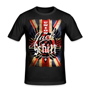 Union Jack Schitt - Men's Slim Fit T-Shirt